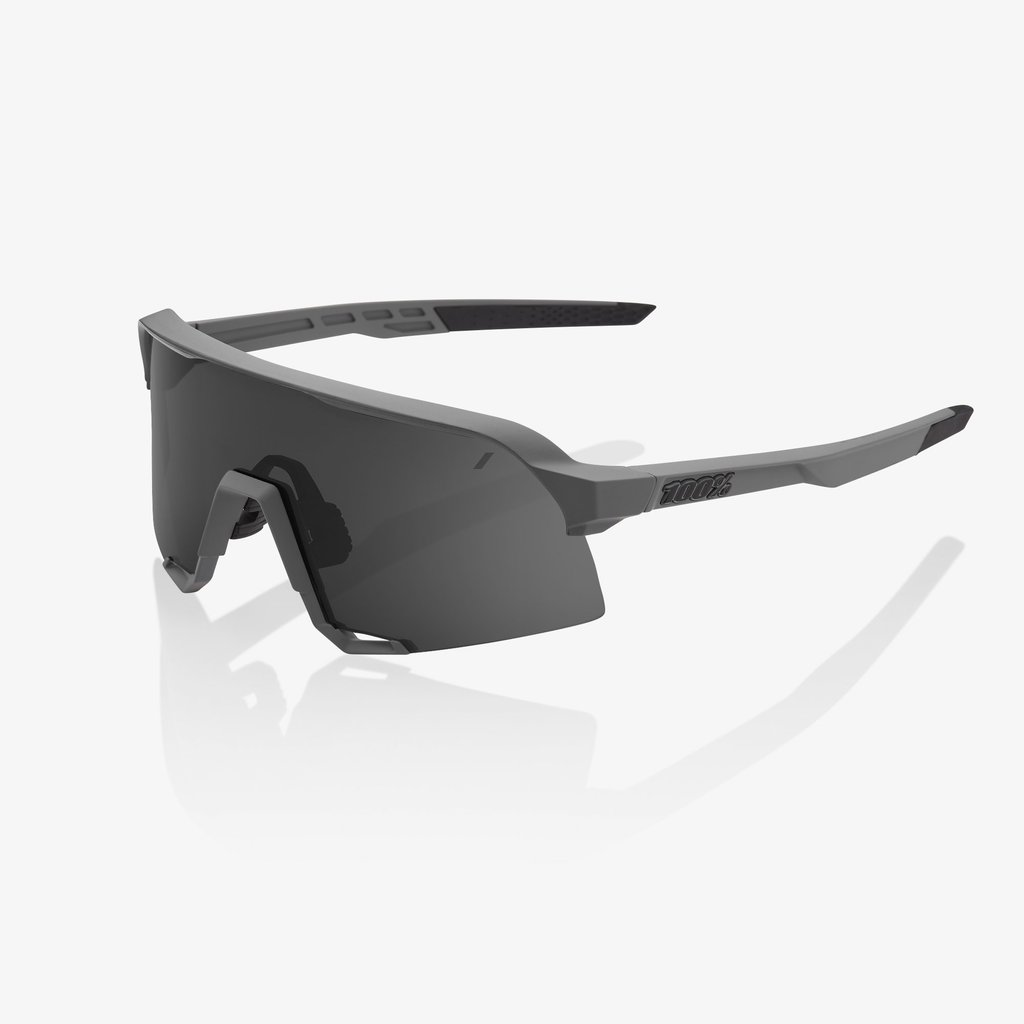 Eyewear 100% S3 Sunglasses Grey Frame Grey Lens