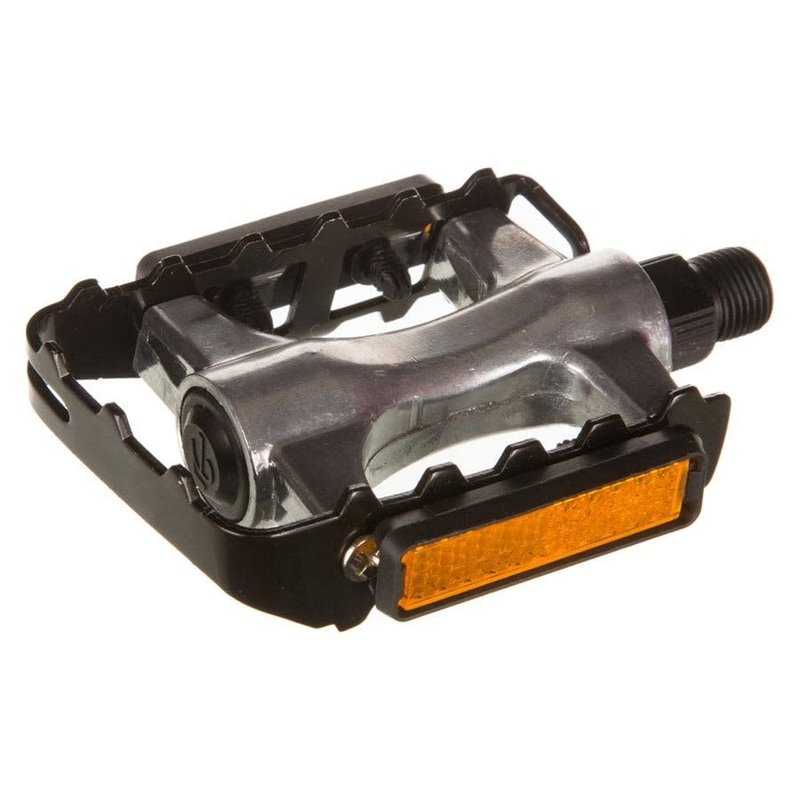 EVO Swivel Alloy, Pedals, Body: Aluminum, Spindle: Steel, 9/16'', Silver, Pair