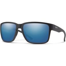 Smith Emerge Matte Black ChromaPop Polarized Blue Mirror