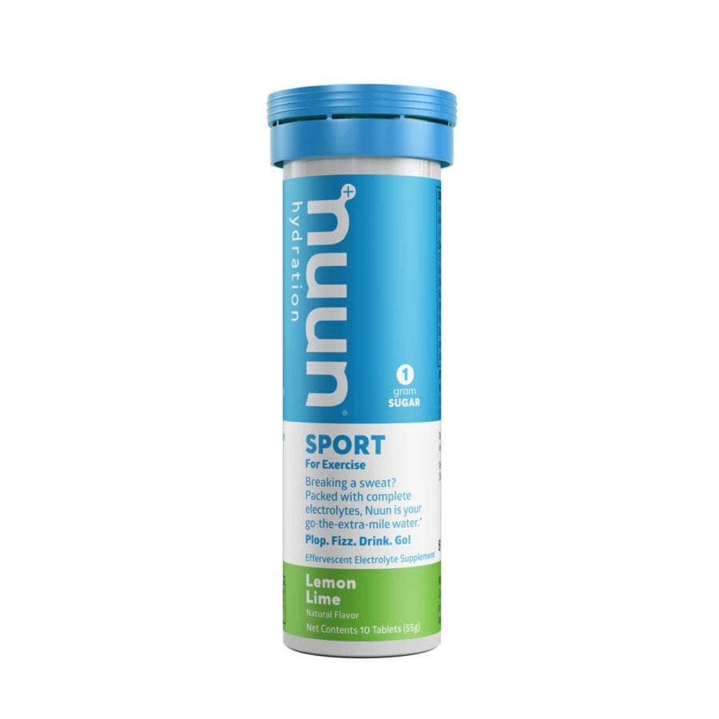 Nuun Nuun, Sport, Drink Mix, Lemon Lime