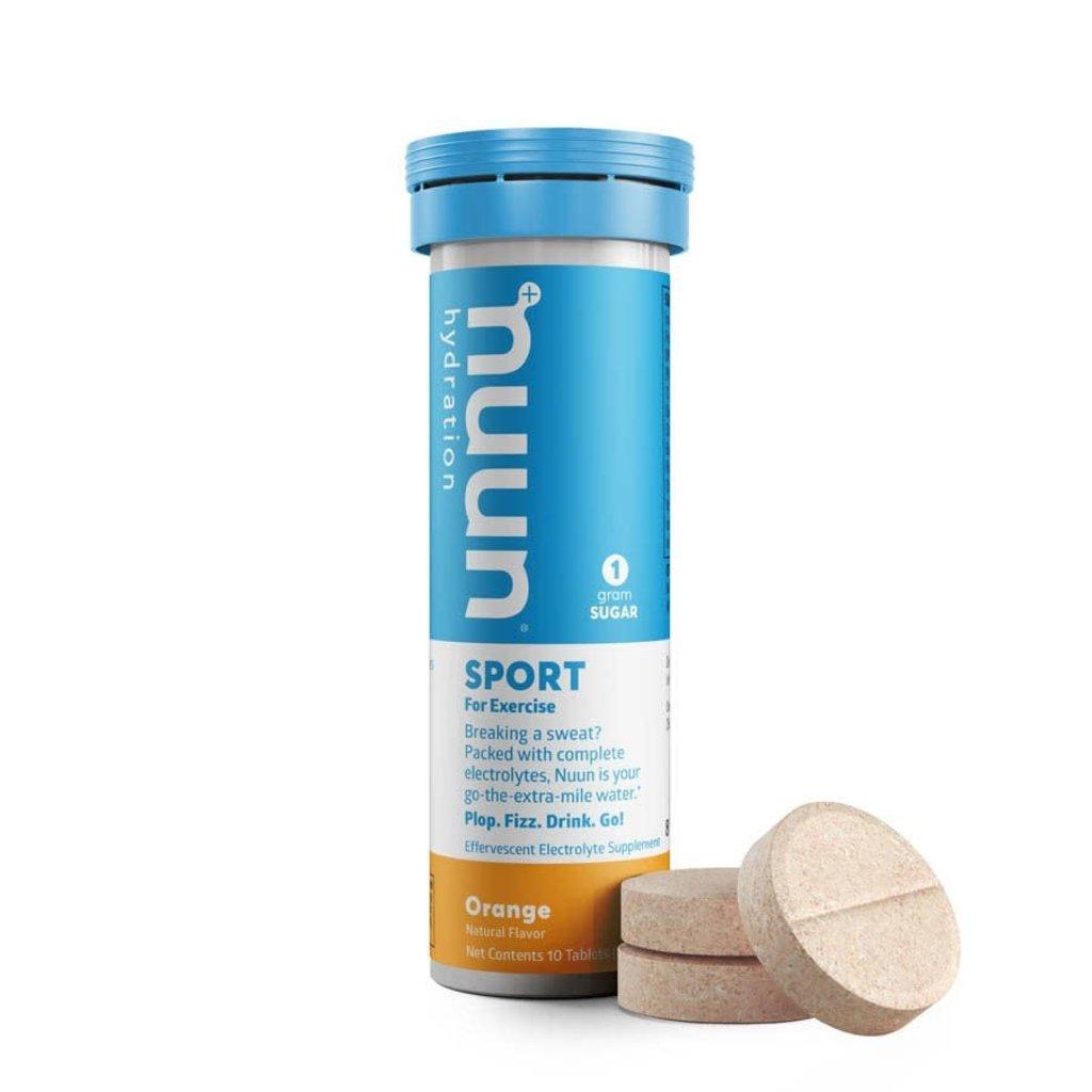 Nuun Nuun, Sport, Drink Mix, Orange