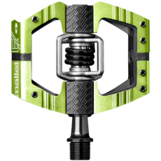 Crankbrothers Mallet Enduro-Green-Long Spindle