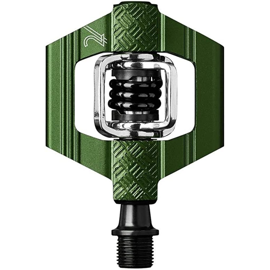 Crankbrothers Candy 2 Green / Black Spring