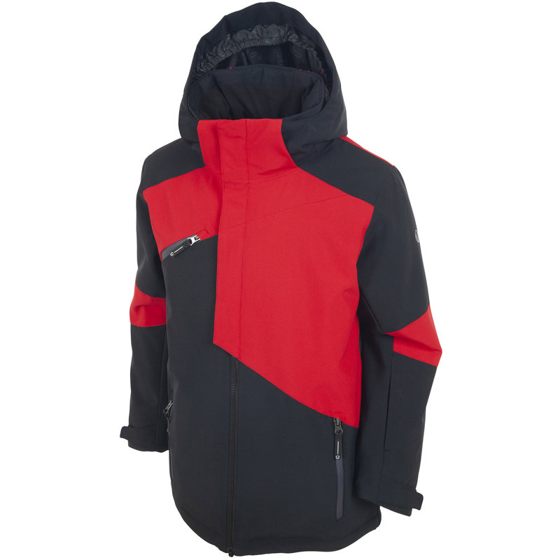 Sunice Philip Boys Jacket (2022)  Black/Merlot