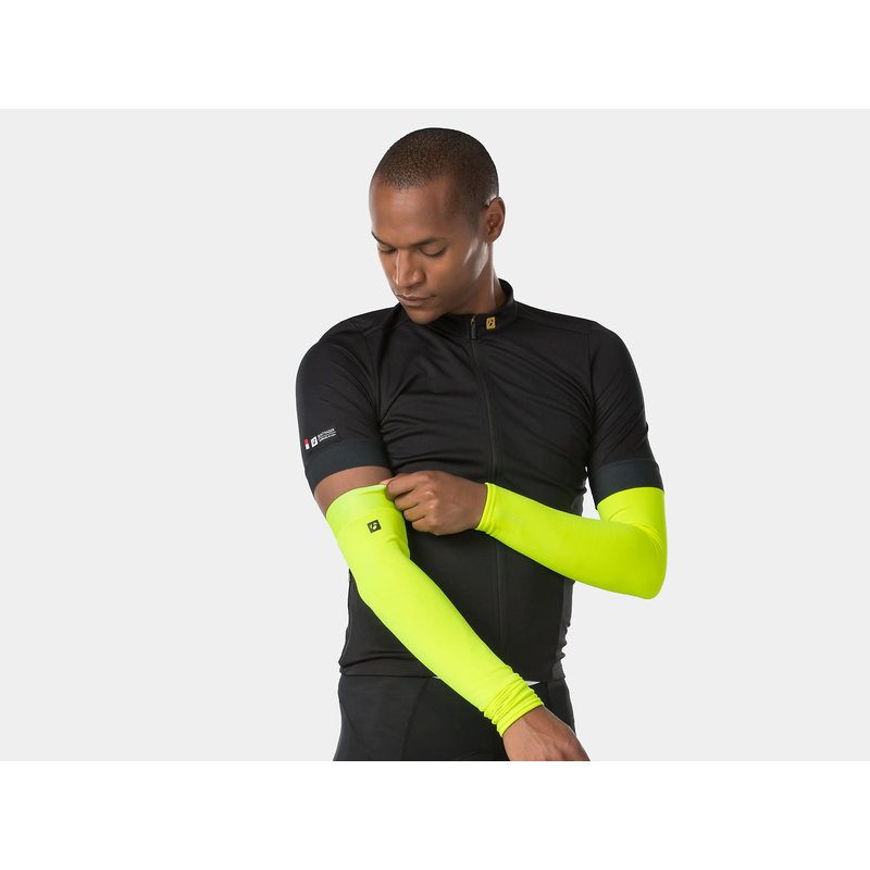 Bontrager Thermal Cycling Arm Warmer Yellow