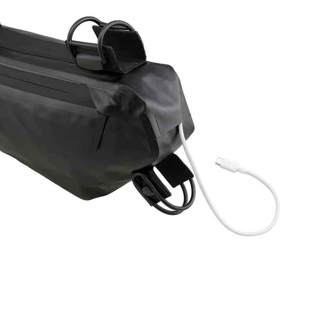 Roswheel Road Frame Bag, Frame Bag, 2L, Black