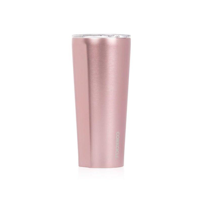 Corkcicle Tumbler 24oz Rose Metallic