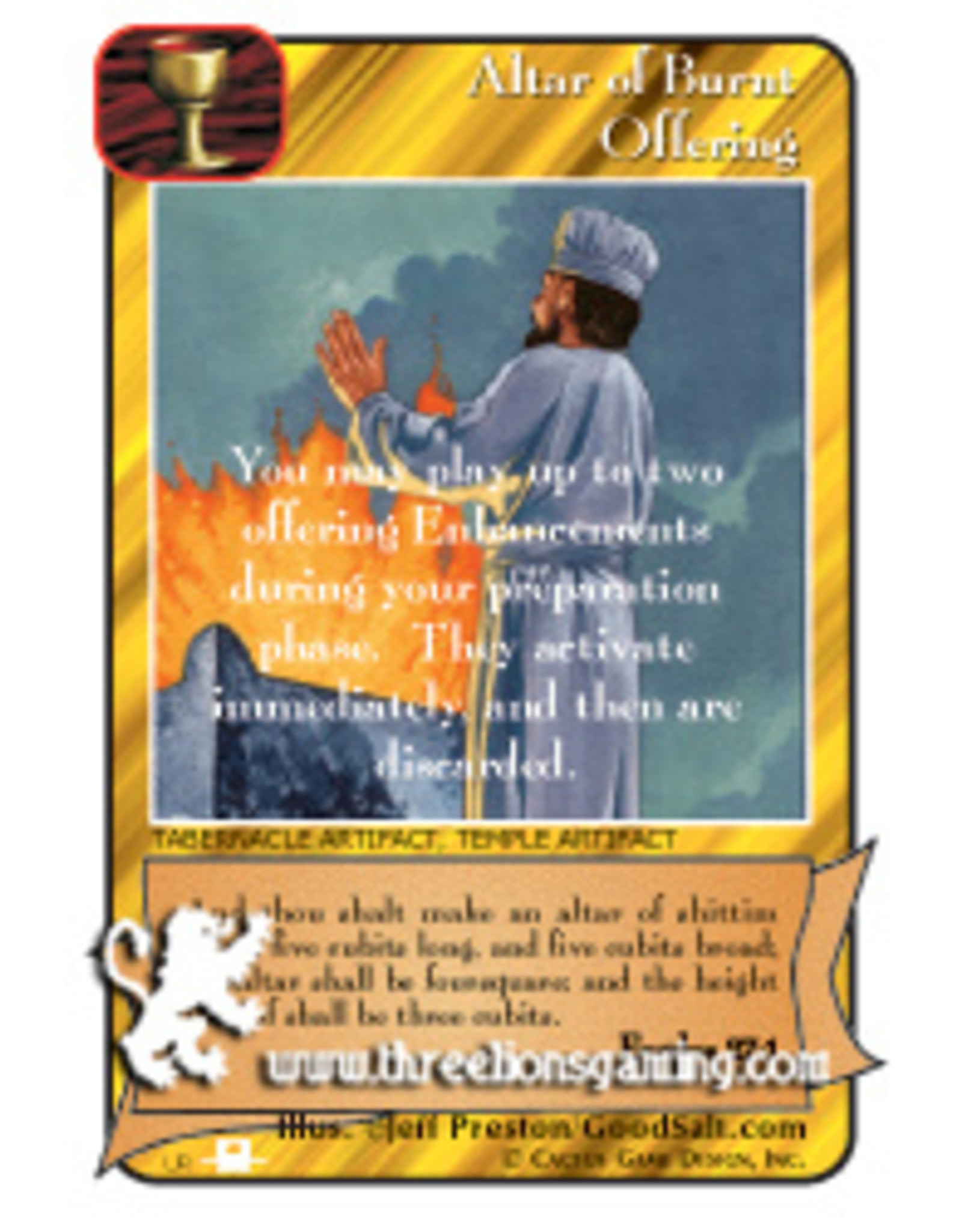 Priests: Altar of Burnt Offering