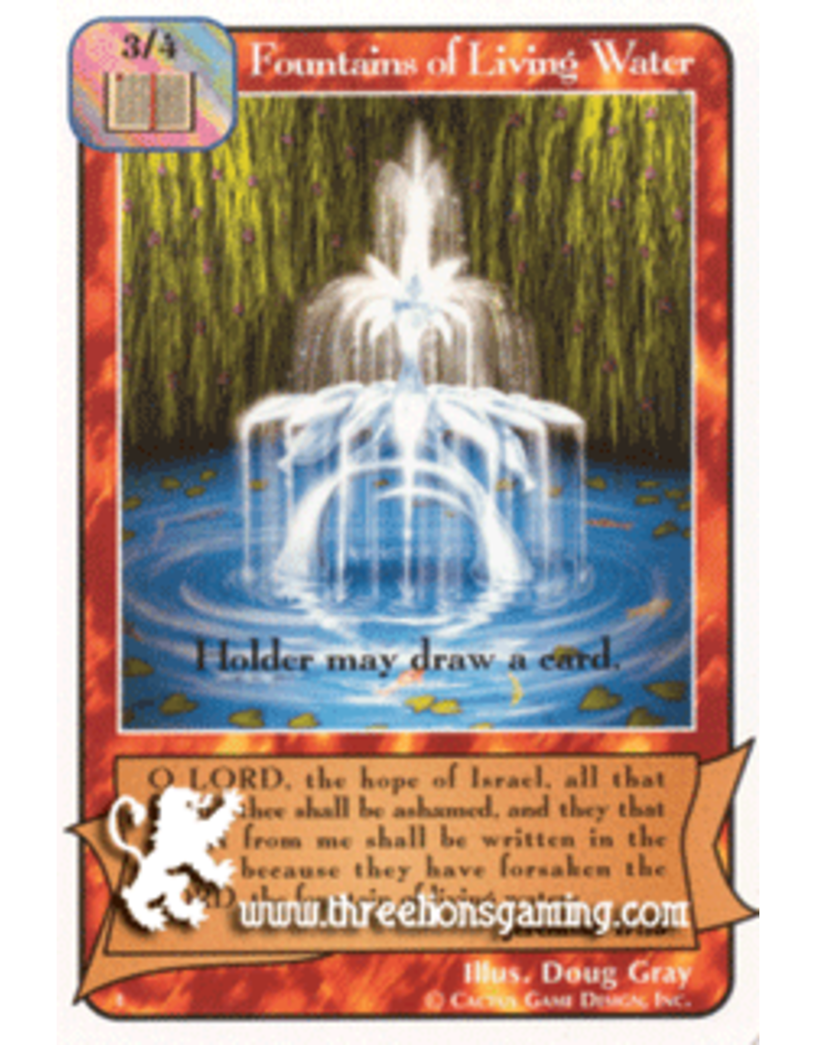 E/F: Fountains of Living Water