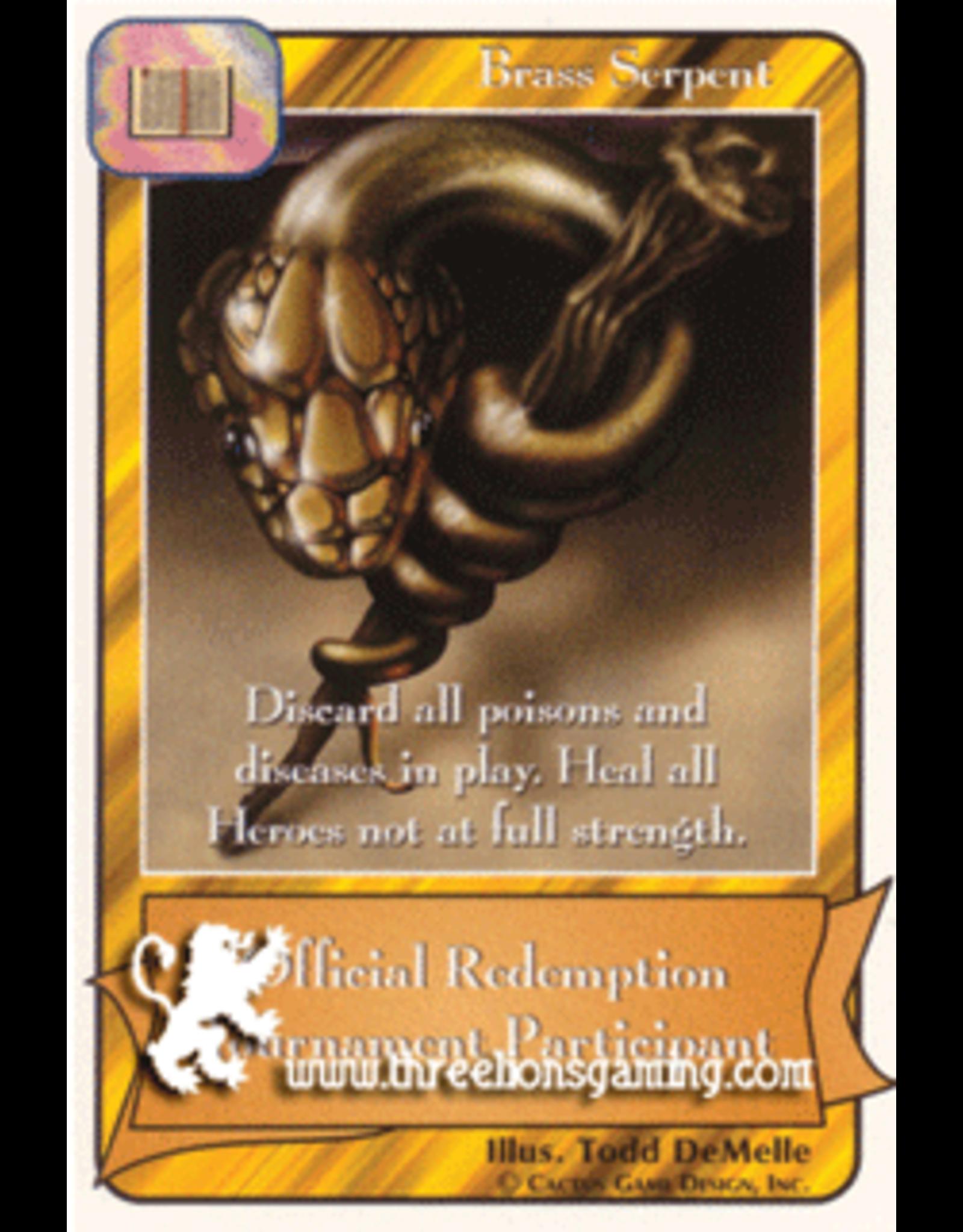 Promo: Brass Serpent