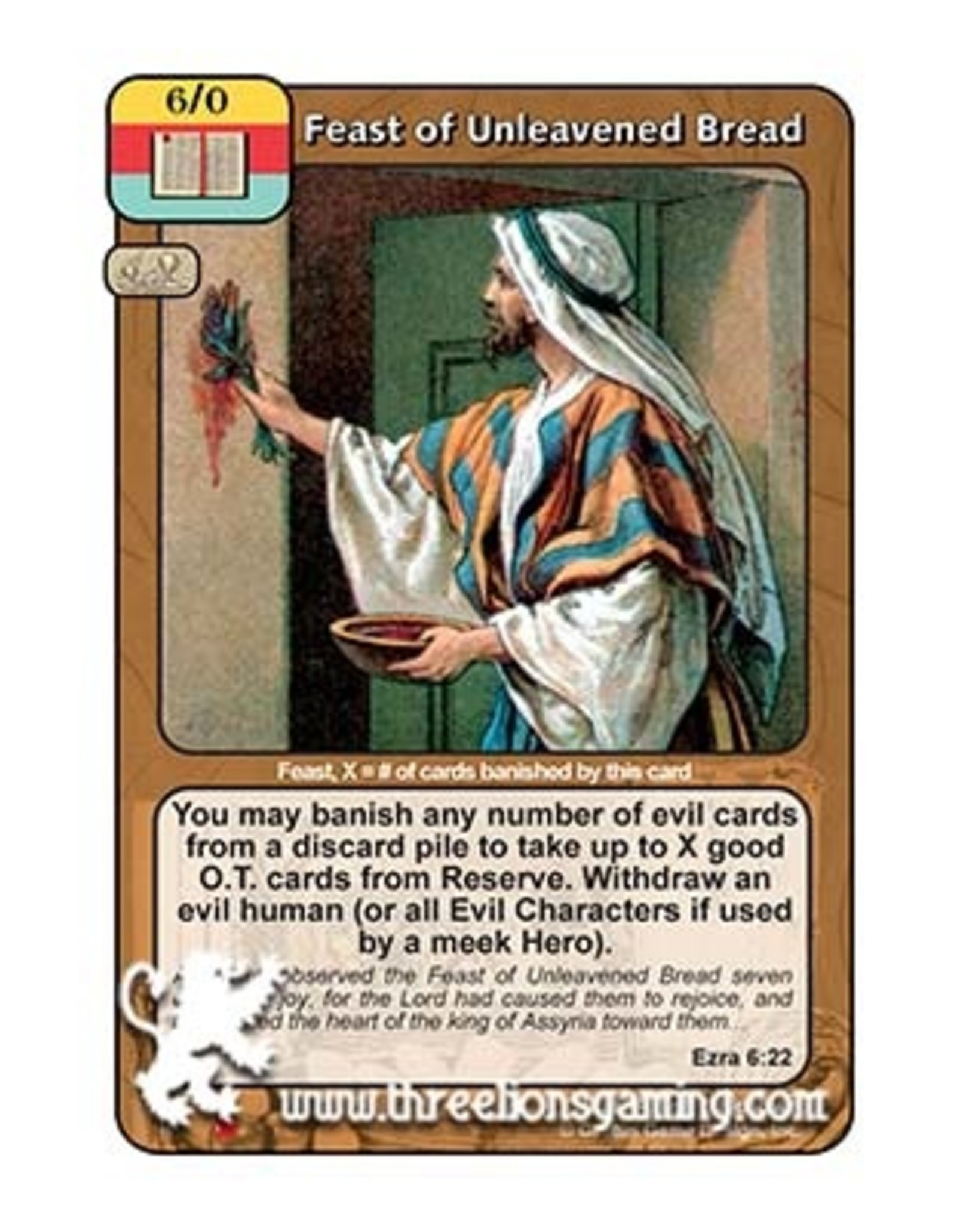 LoC: Feast of Unleavened Bread