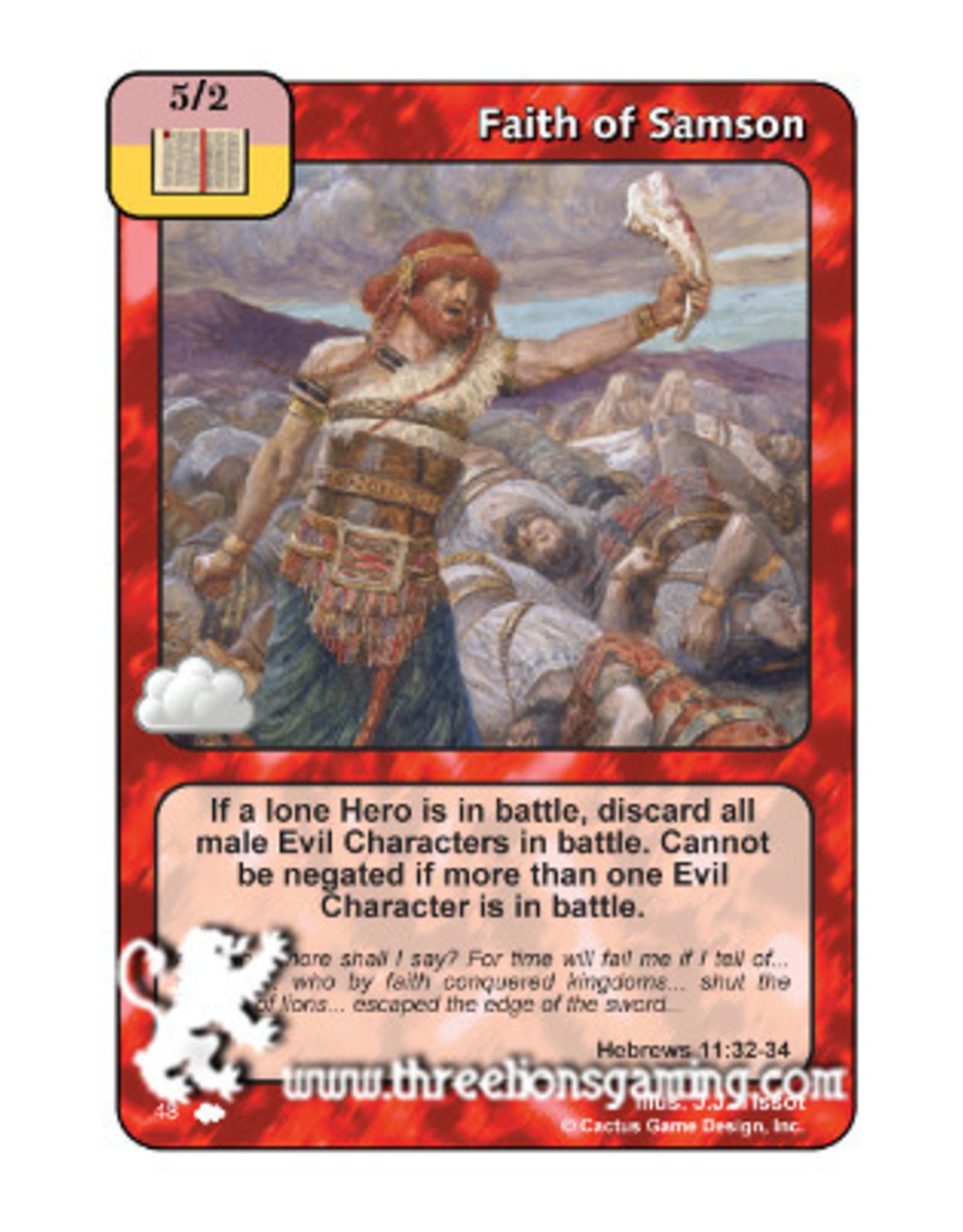 Faith of Samson (CW)