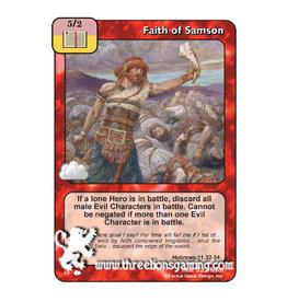 Faith of Samson