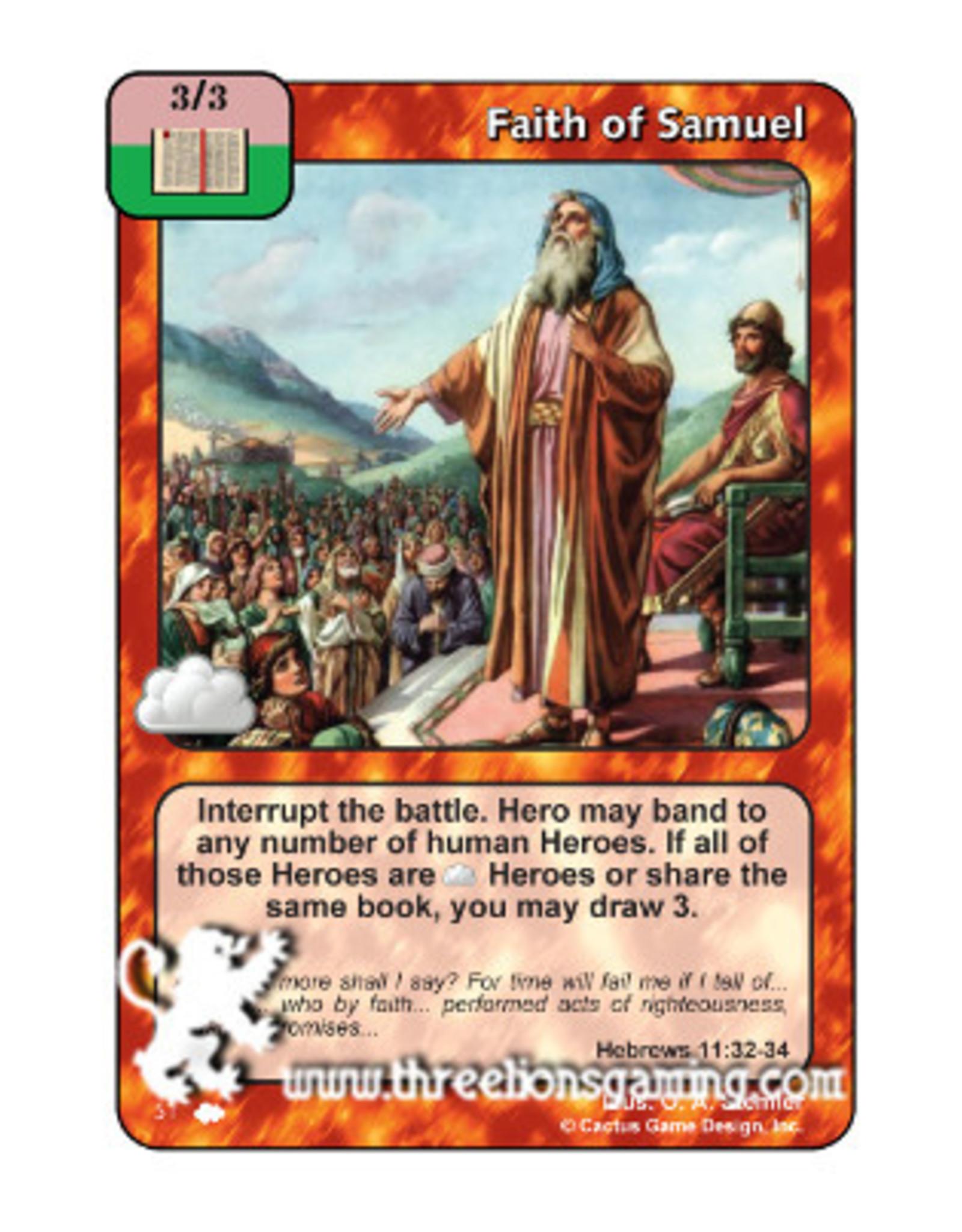 Faith of Samuel (CW)