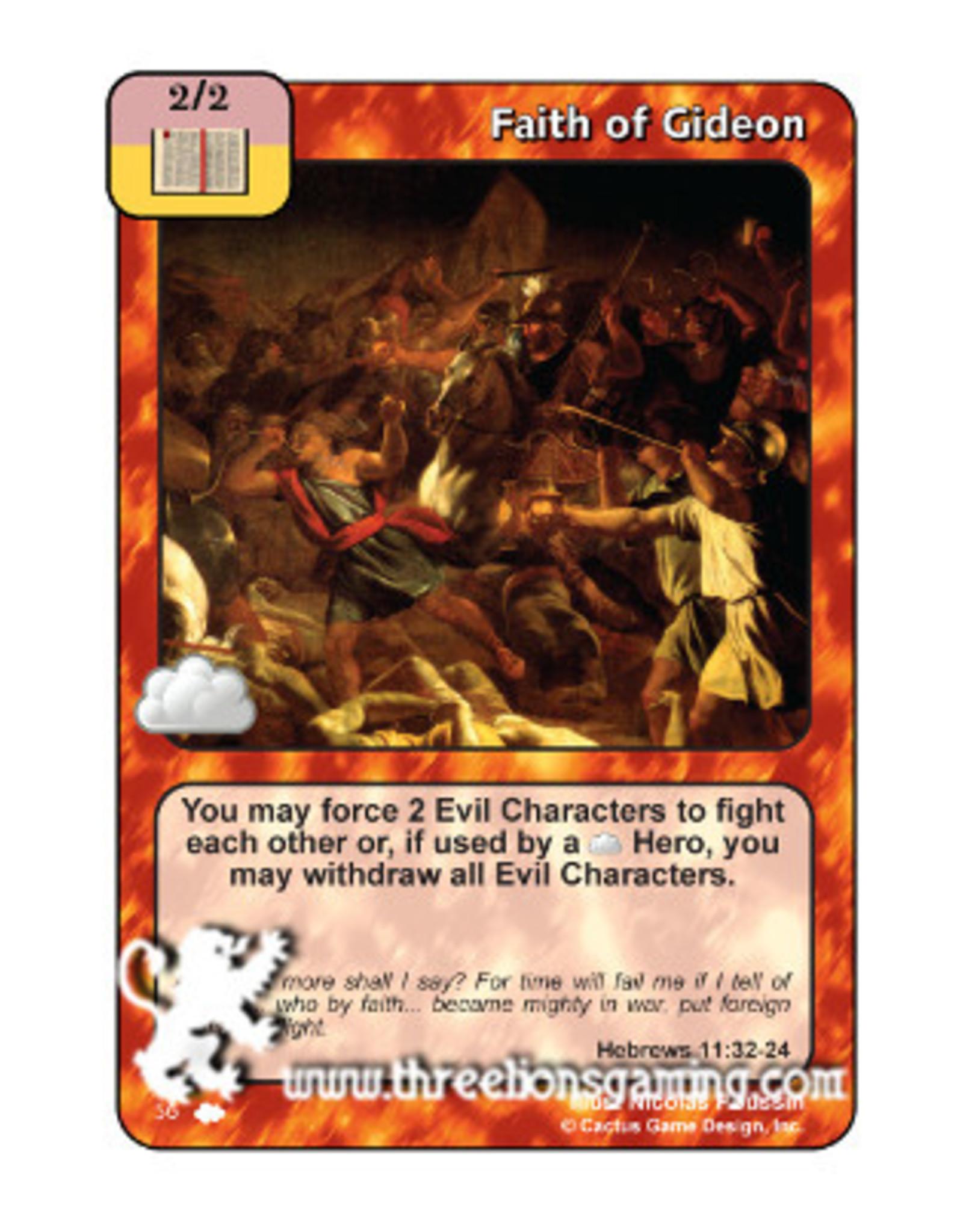 Faith of Gideon (CW)