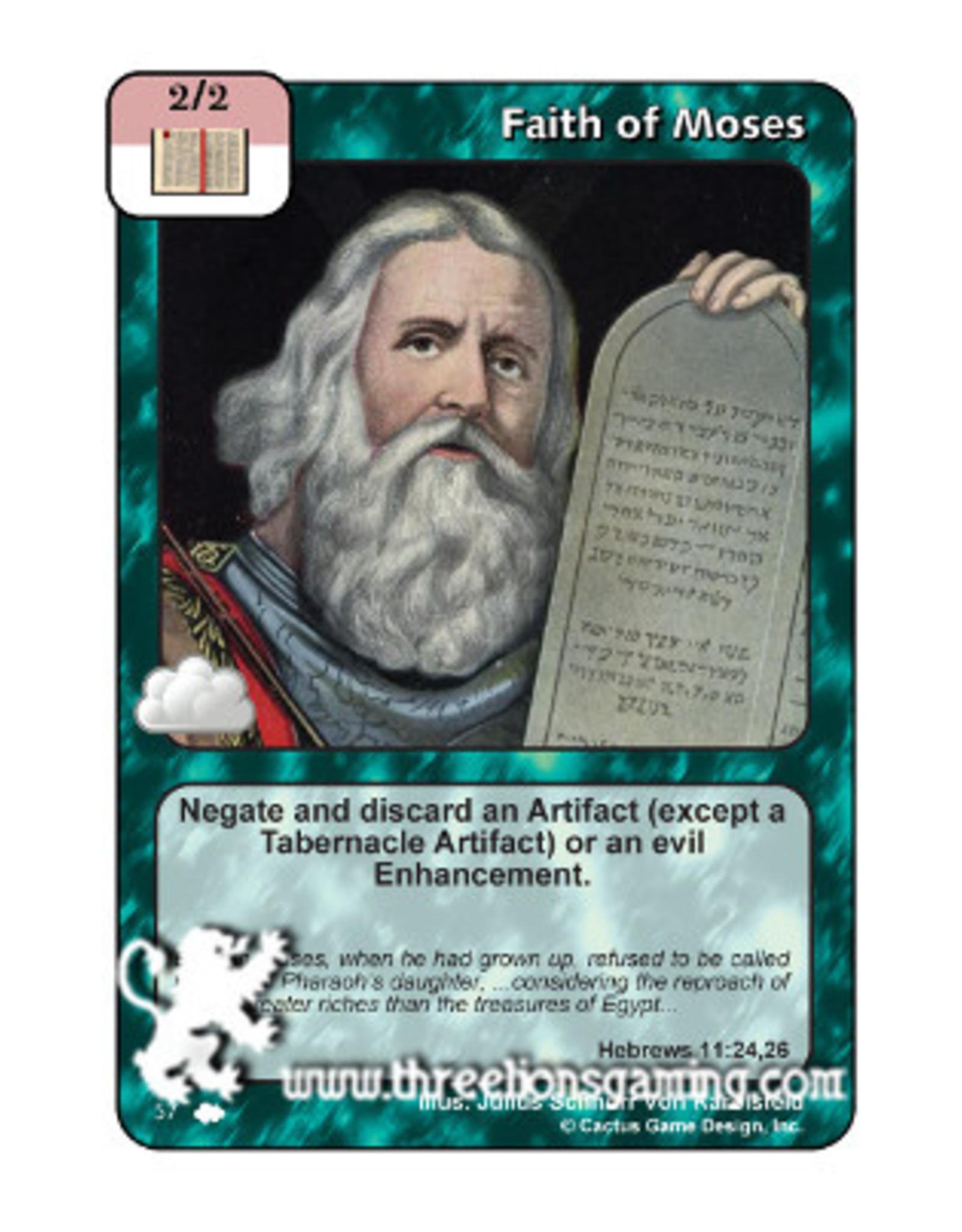 Faith of Moses (CW)