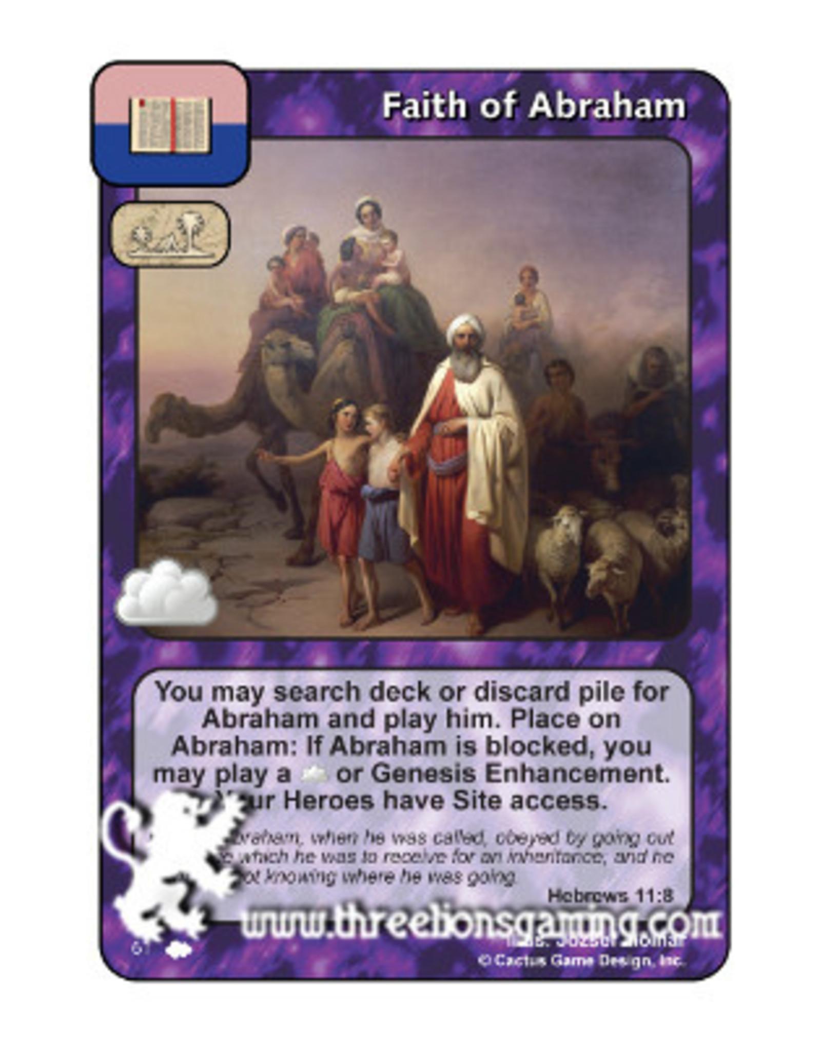 Faith of Abraham (CW)
