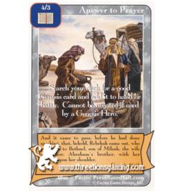 FoOF: Answer to Prayer