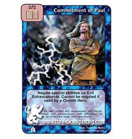 EC: Commitment of Paul