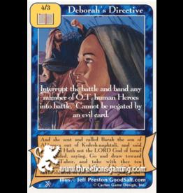 FoOF: Deborah's Directive