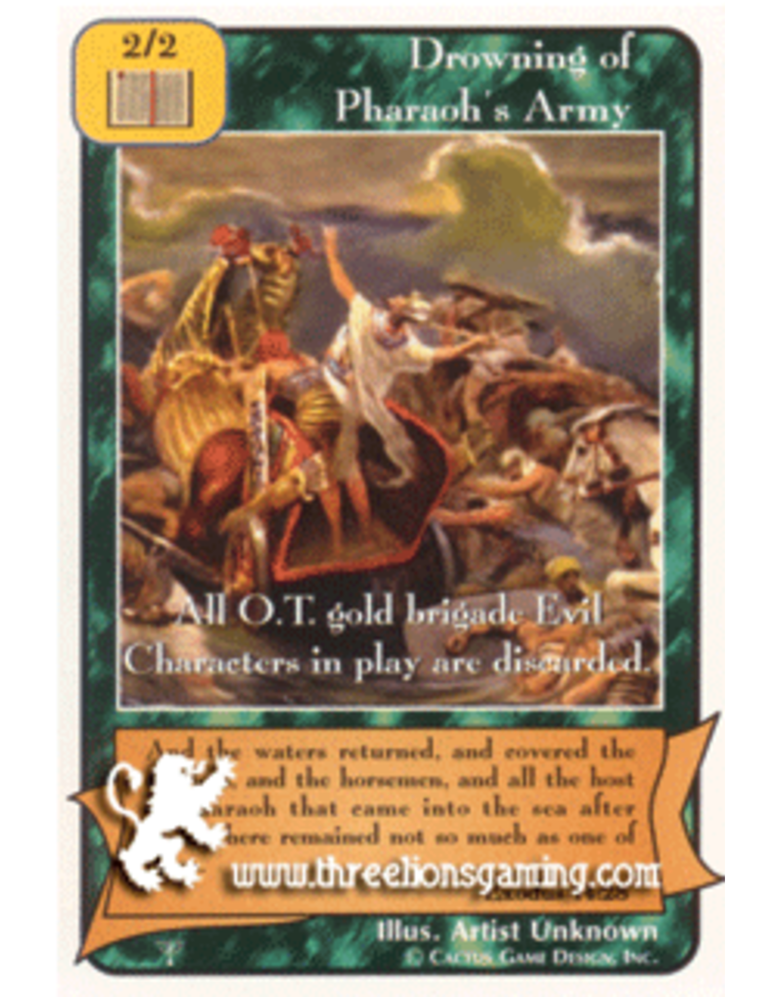 Pa: Drowning of Pharaoh's Army