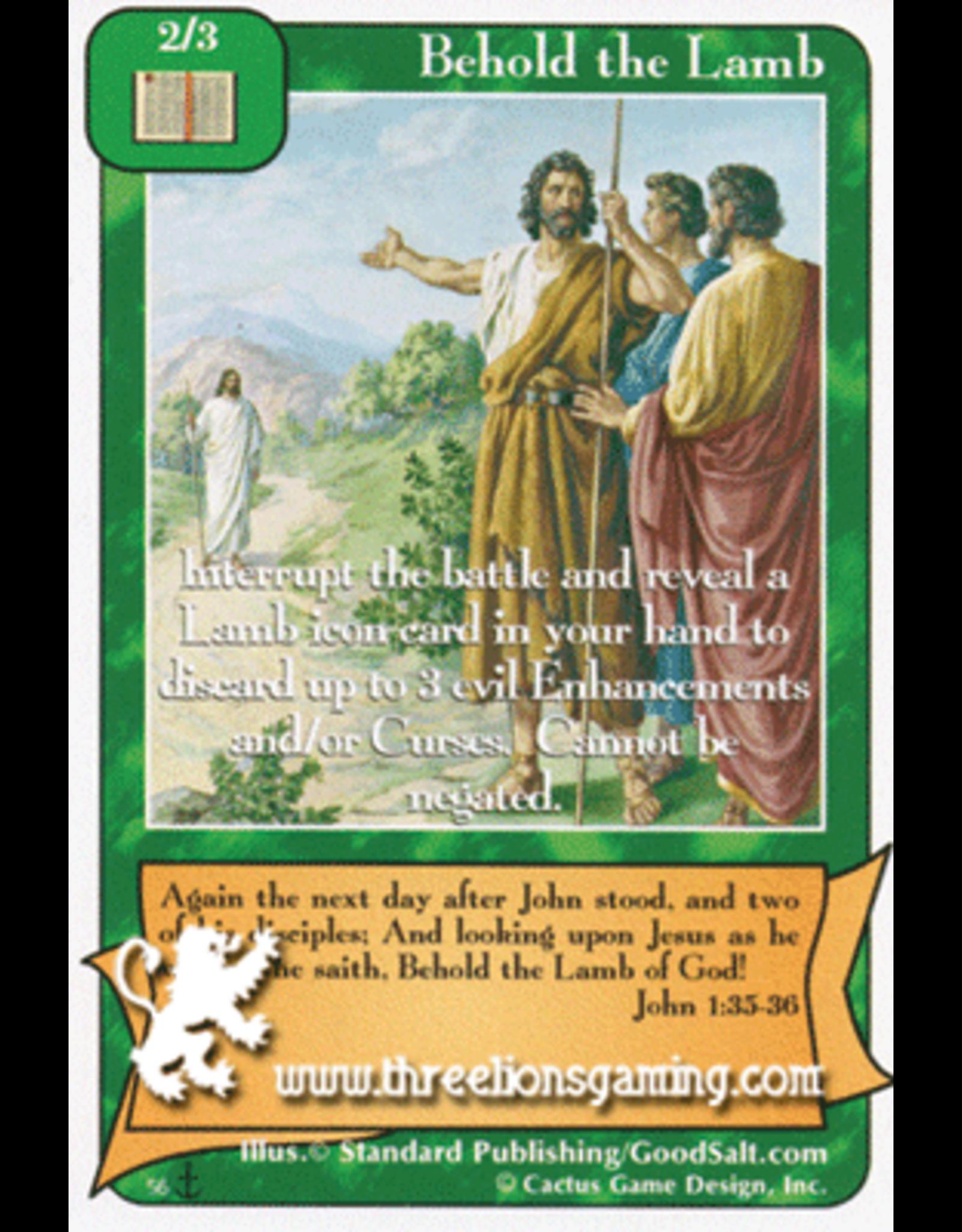 Behold the Lamb (Di)