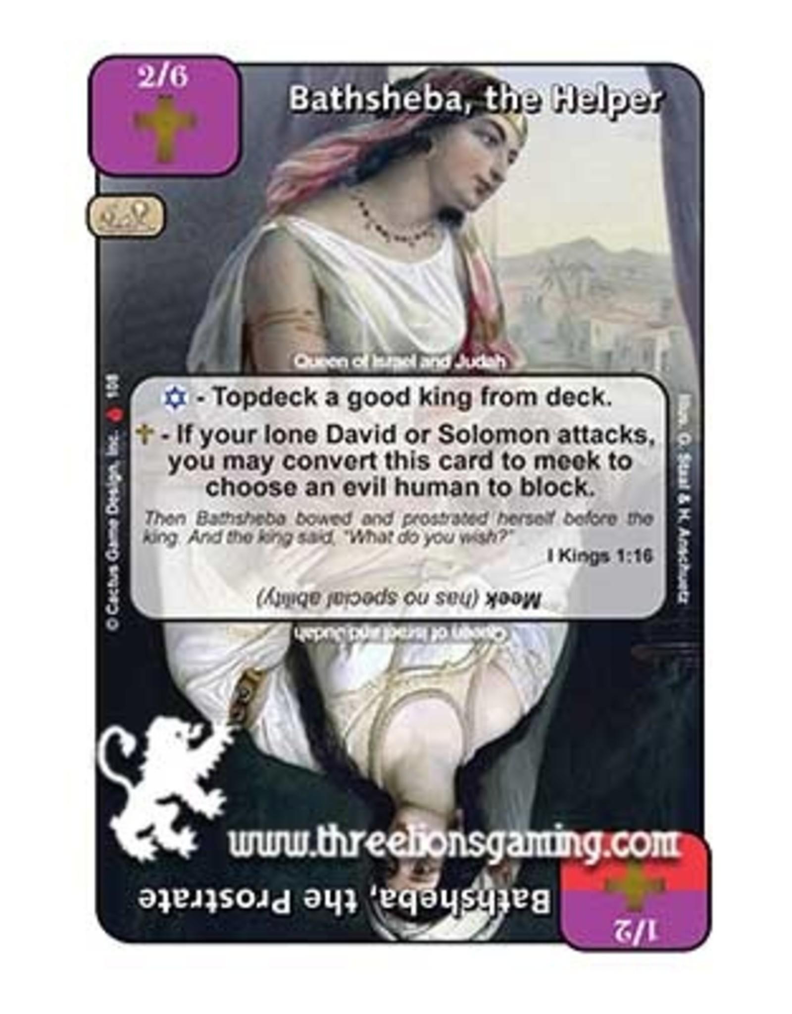 LoC: Bathsheba, the Helper / Bathsheba, the Prostrate
