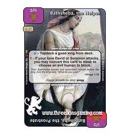 Bathsheba, the Helper / Bathsheba, the Prostrate