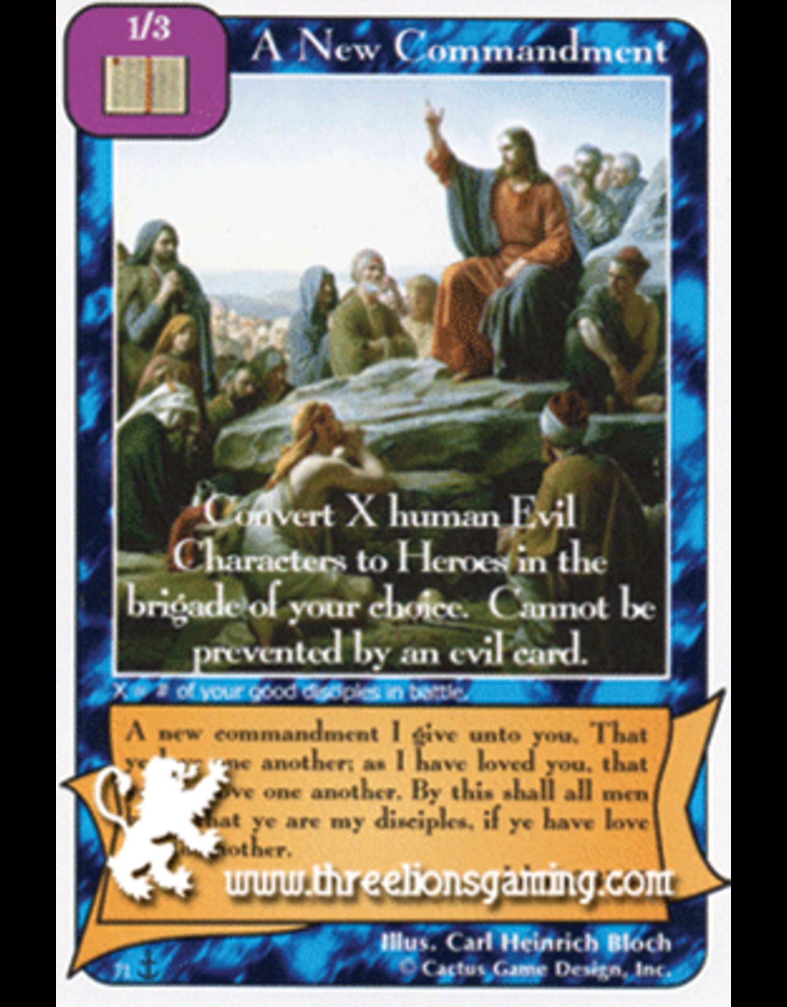 Di: A New Commandment