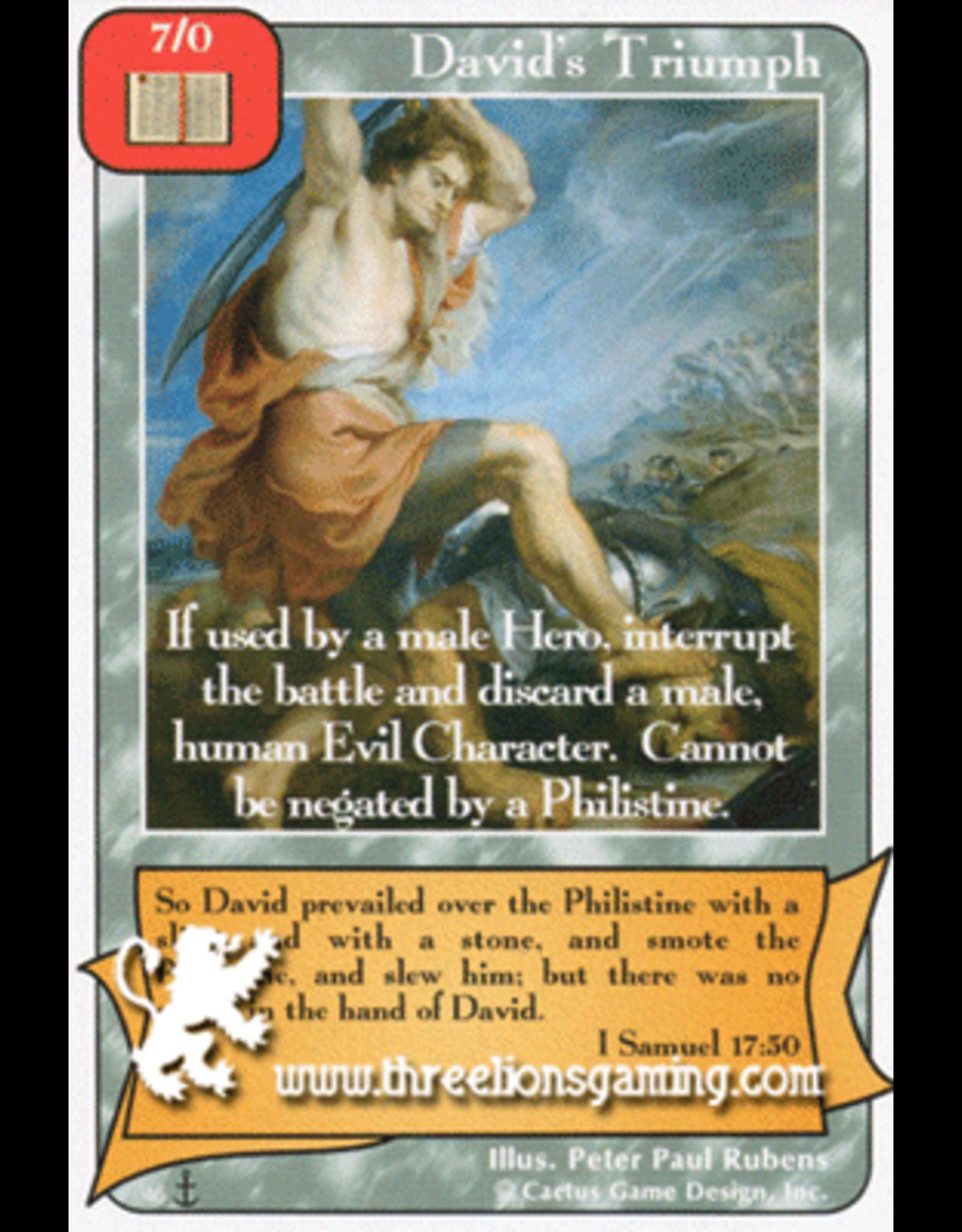 Di: David's Triumph