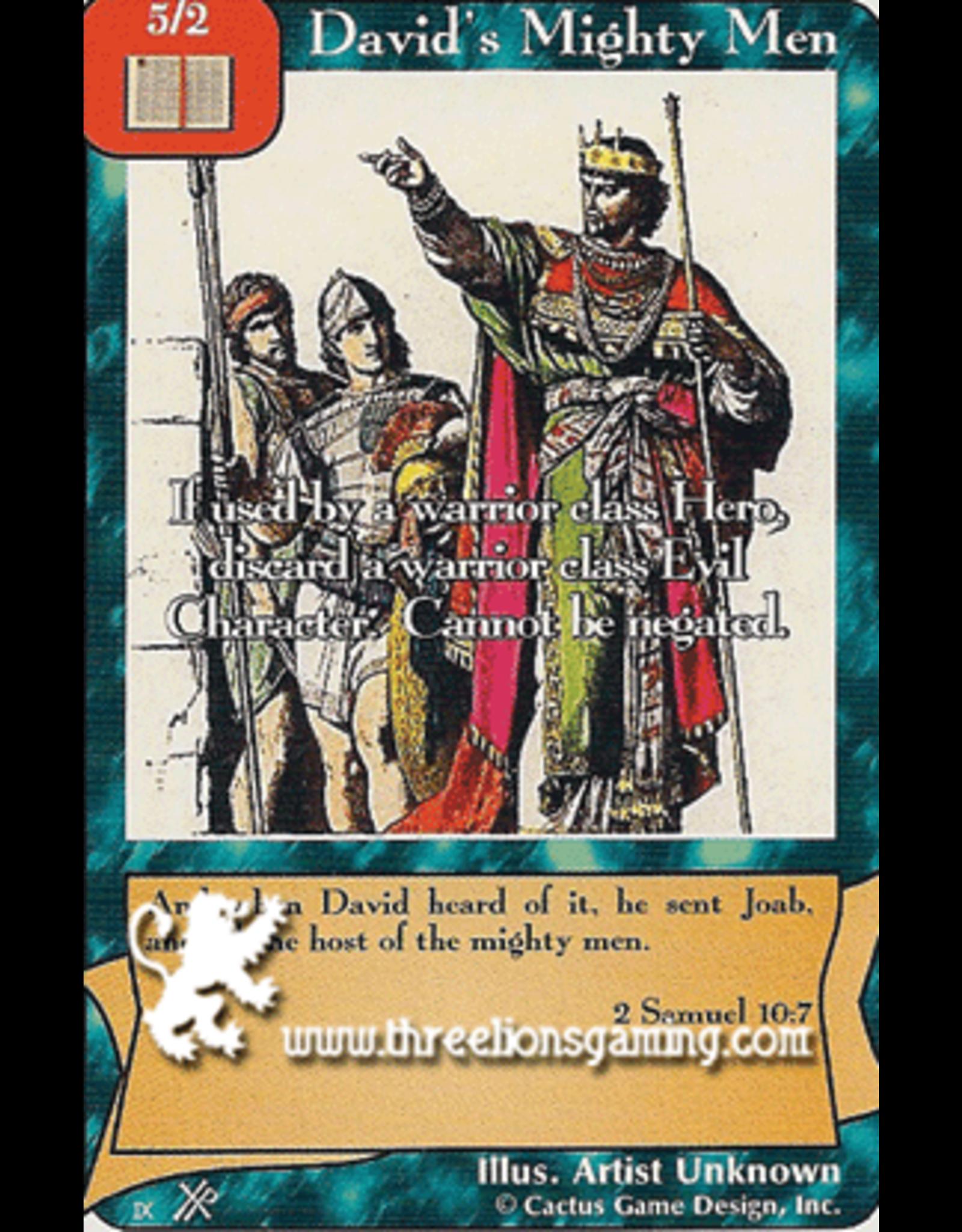 FoOF: David's Mighty Men