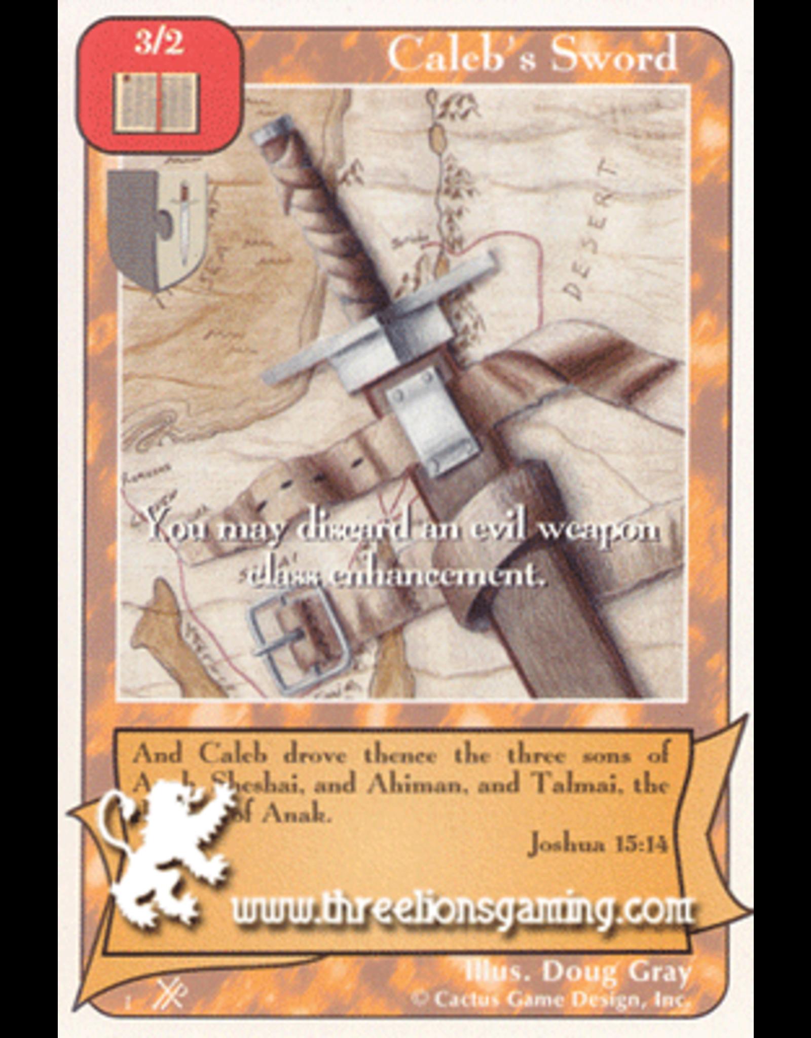 FoOF: Caleb's Sword