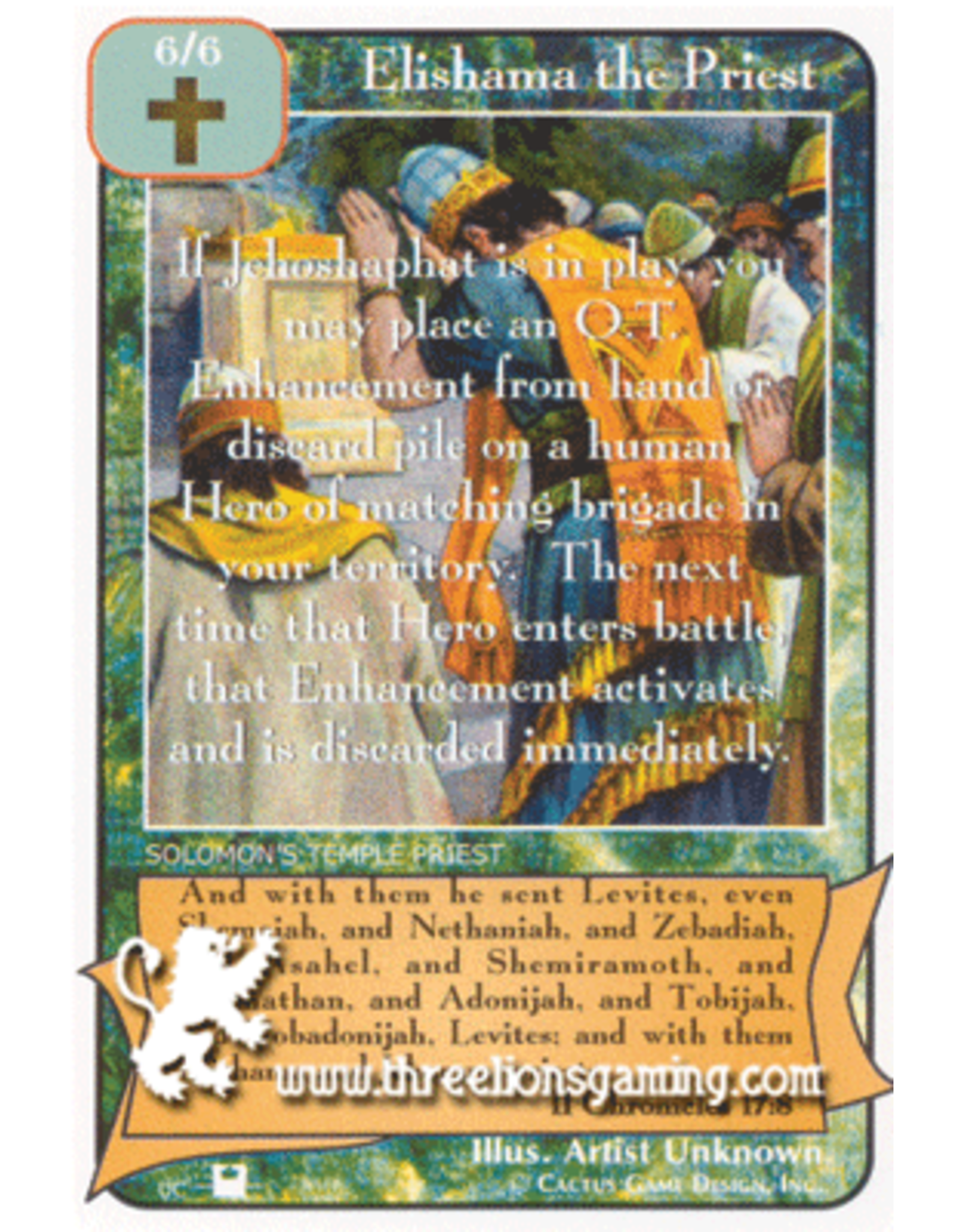 Priests: Elishama the Priest