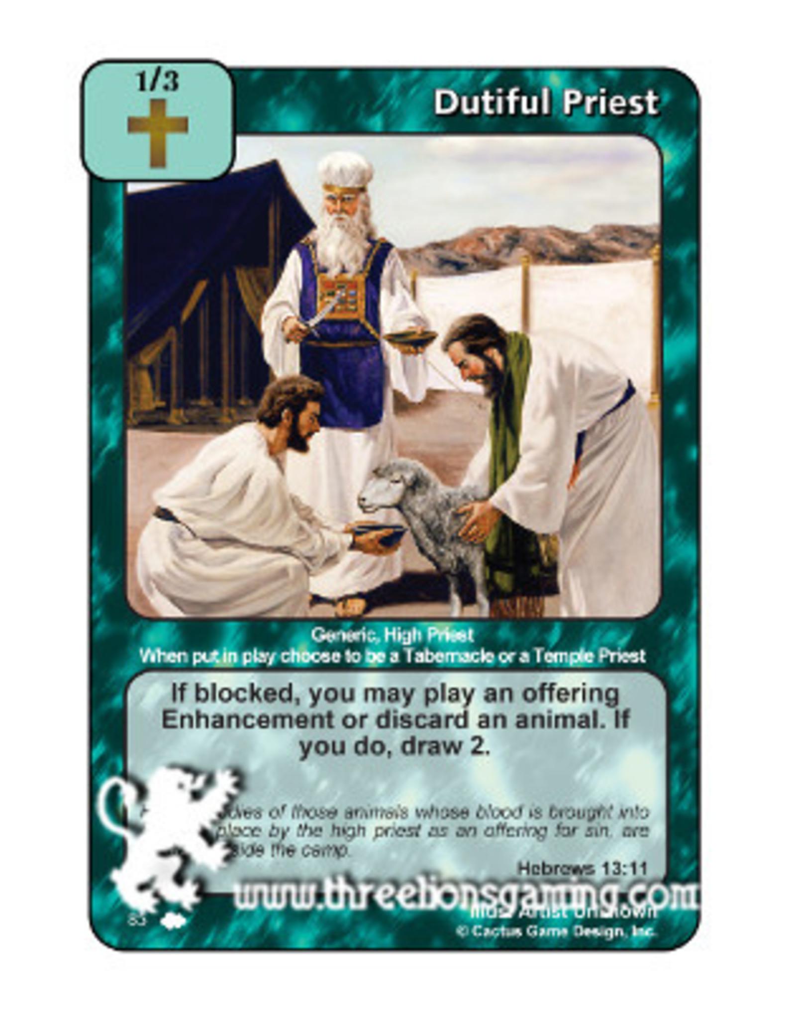 Dutiful Priest (CW)