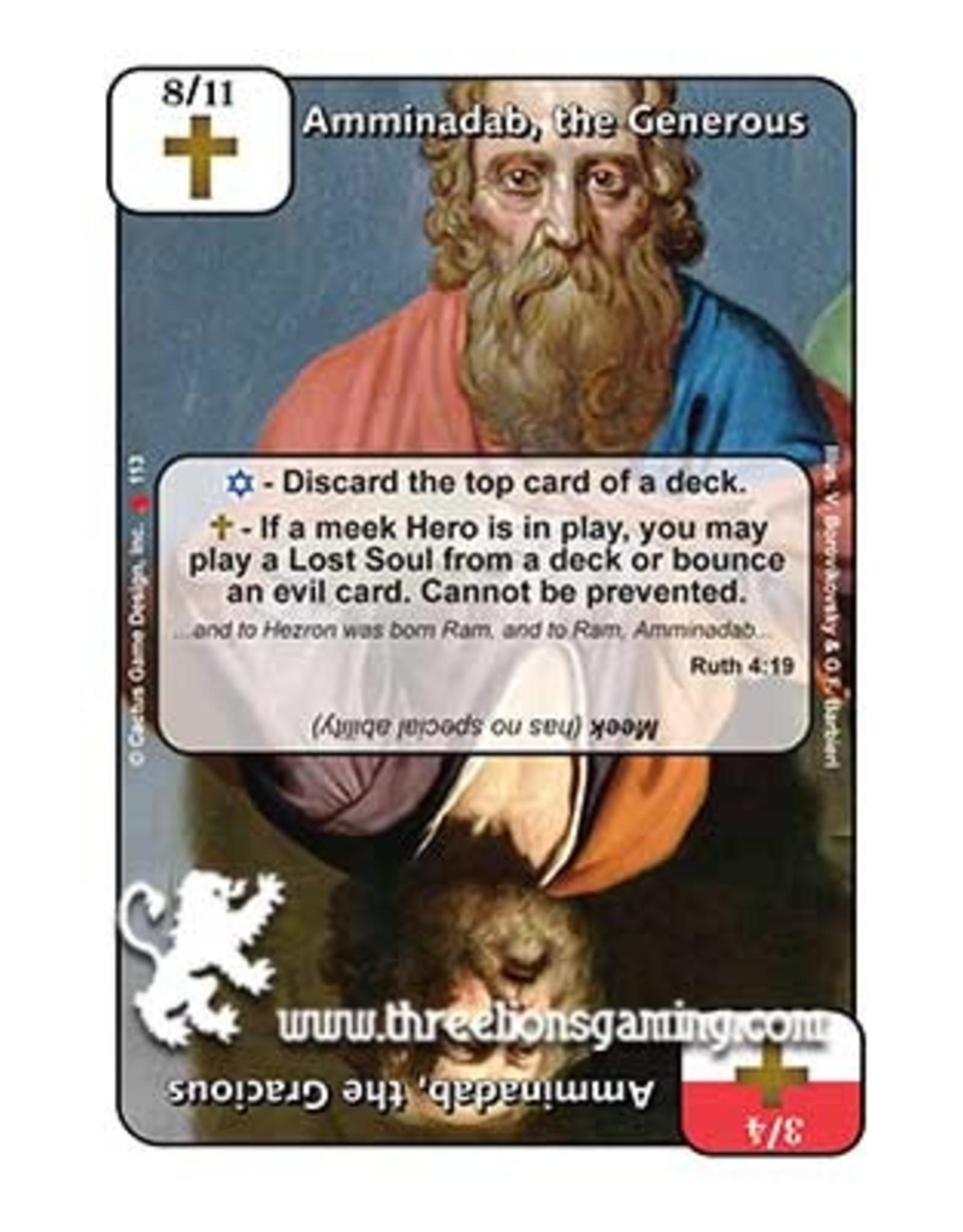 LoC: Amminadab, the Generous / Amminadab, the Gracious