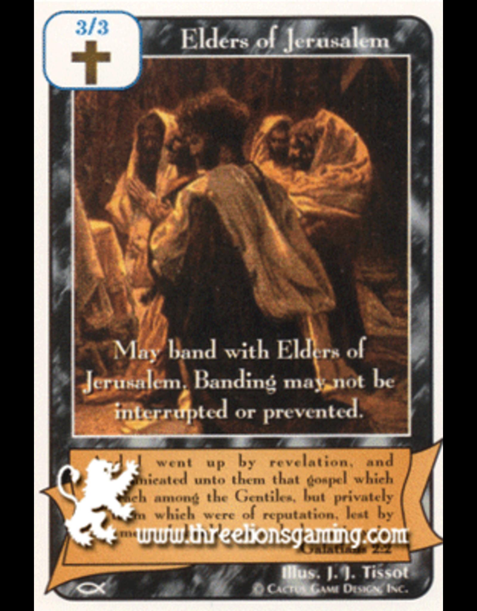 Elders of Jerusalem (Black) (AP)