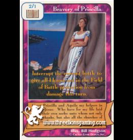 Bravery of Priscilla