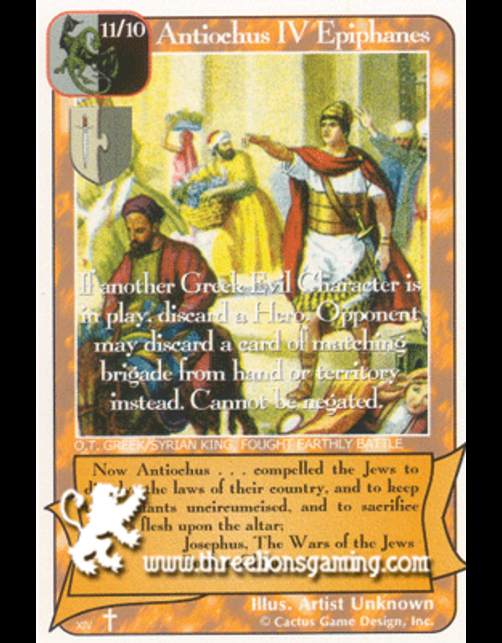 RoA: Antiochus IV Epiphanes