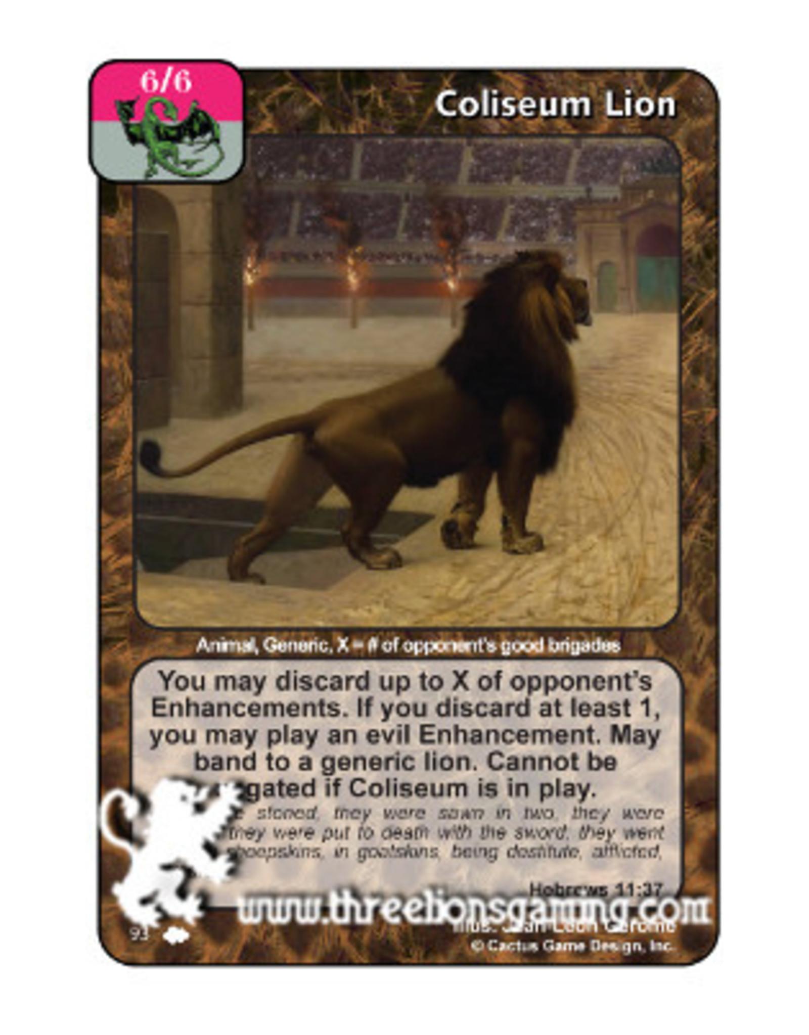 Coliseum Lion (CW)