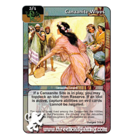 FoM: Canaanite Wives