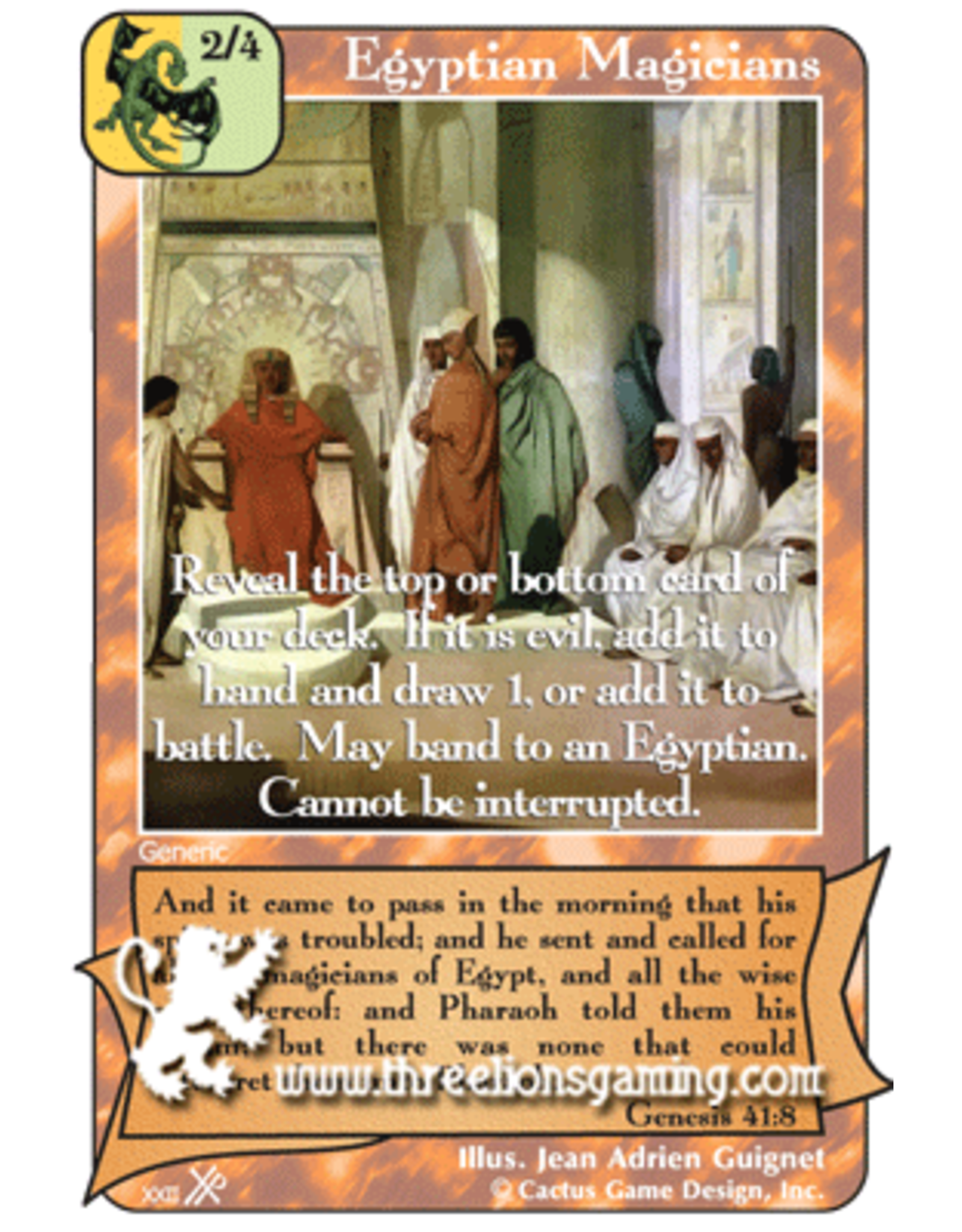 FoOF: Egyptian Magicians