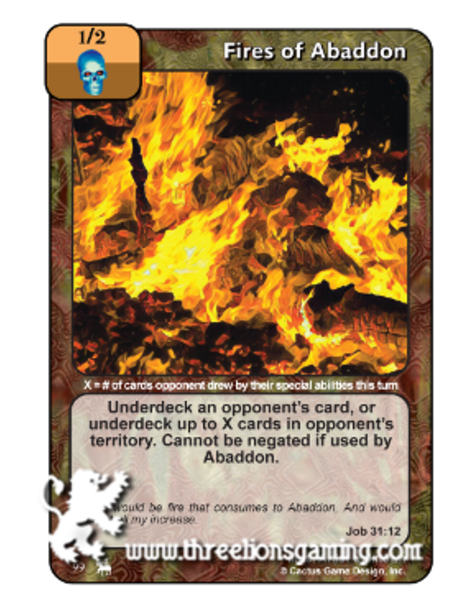 RoJ: Fires of Abaddon