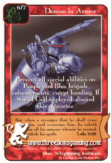 Pa: Demon in Armor