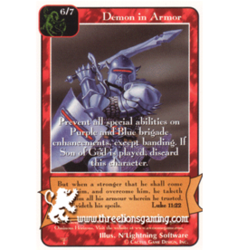 Demon in Armor