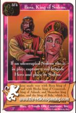 Pa: Bera, King of Sodom