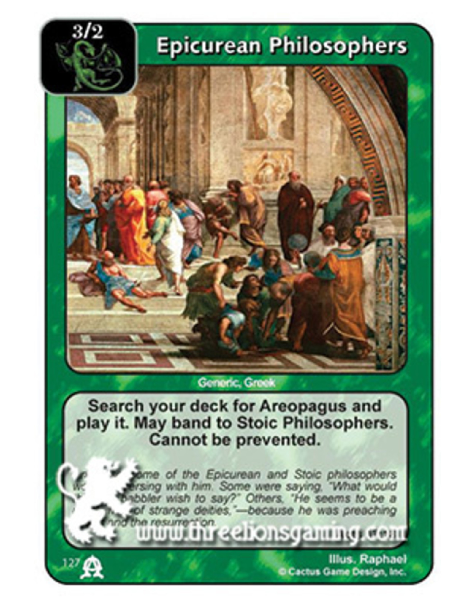 EC: Epicurean Philosophers