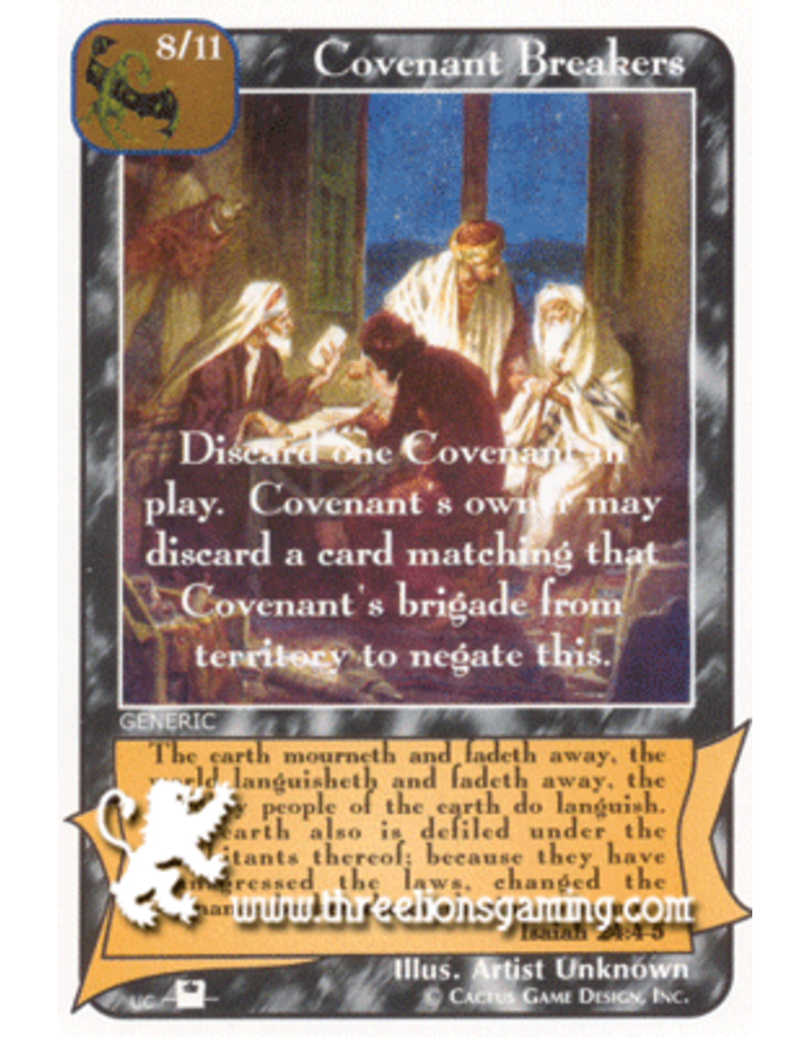 Priests: Covenant Breakers