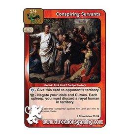 LoC: Conspiring Servants