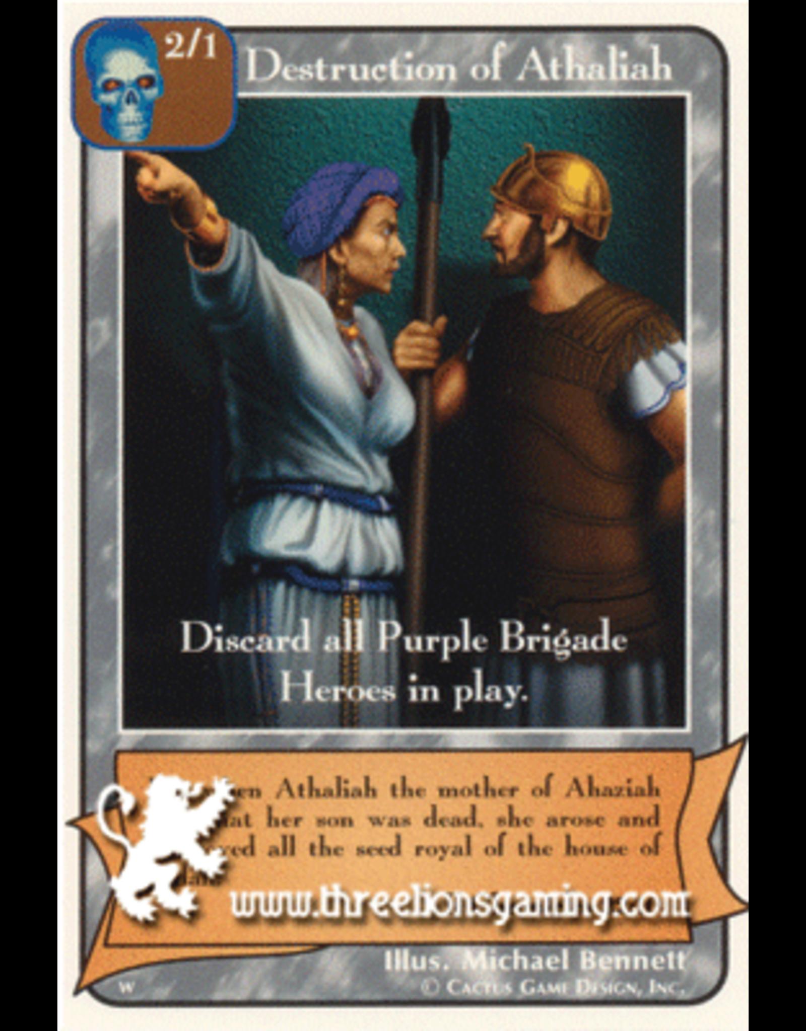 Destruction of Athaliah (WO)