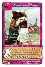 Abijah, son of Samuel (PS)